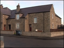 The Marconi Terrace house