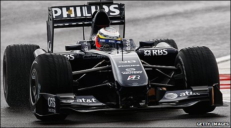Nico Hulkenberg in the Williams FW31