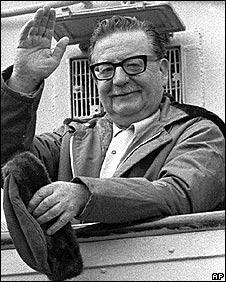 Former Chilean President Salvador Allende (1971 picture)