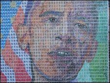 The Barack Obama portrait