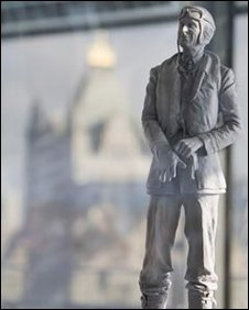Maquette of statue