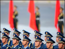 China's People's Liberation Army and Navy, Oct 08