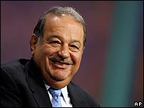 Carlos Slim. Foto de archivo: 27/09/08