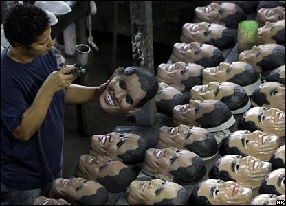 Маски Барака Обамы