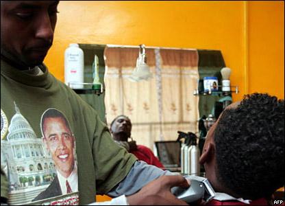 Парикмахерская имени Обамы в Хартуме