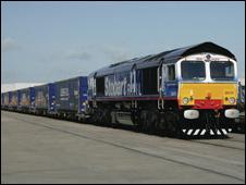 Stobart Rail train