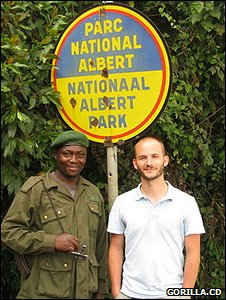 Safari Kakule and Pierre Peron (Image: Gorilla.cd)
