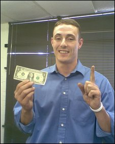 Troy's First Dollar
