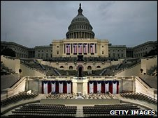 US Capitol ahead of inaugural ceremony, 19 Jan