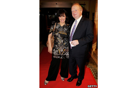 Arlene Phillips and John Sergeant
