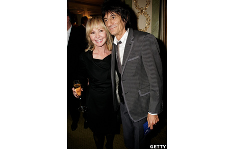 Lulu and Ronnie Wood