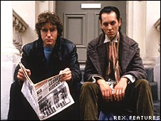Paul McGann and Richard E Grant in Withnail and I