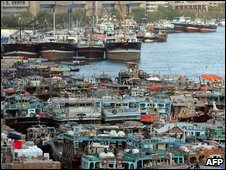 Ships and dhows, Dubai