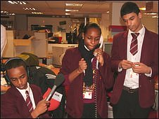 School Reporters, Phoenix High School, London