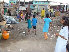 Slum in Mumbai