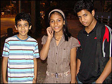 Wealthier children on the cast of Slumdog Millionaire