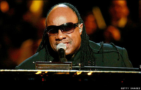 Stevie Wonder performs during the Neighborhood Inaugural Ball