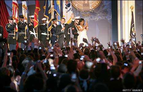 Barack Obama speaks during during MTV ^ ServiceNation: Live From The Youth Inaugural Ball
