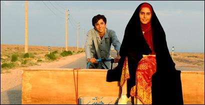 """من فيلم """"بين السحب"""" الايراني"""