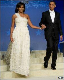 Barack and Michelle Obama, 20 January