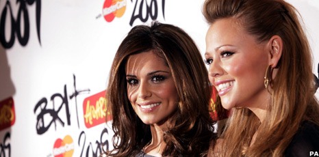 Girls Aloud at the Brit nominations