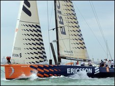 Ericsson sponsored yacht