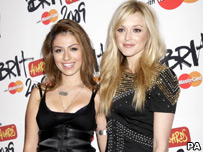 Gabriella Cilmi and Fearne Cotton