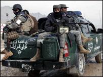 رجال شرطة افغان