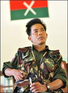 A KIA brigade commander