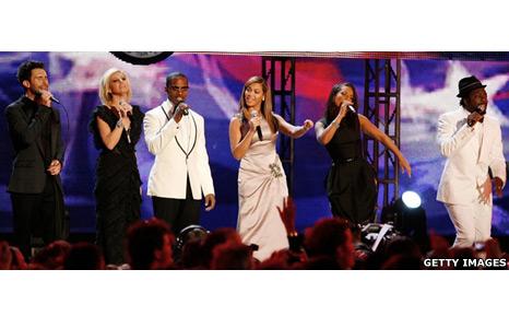 Stars perform for Obama