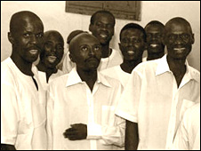 Ugandan condemned prisoners sing for freedom (Photo from www.condemnedchoirs.co.uk)