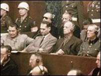 Acusados en los juicios de Nuremberg