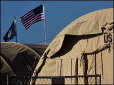US Camp Justice at Guantanamo Bay