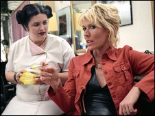 Nighty Night: Ruth Jones as Linda with Julia Davis as Jill