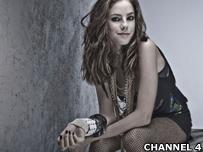 Kaya Scodelario who plays Effy