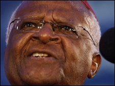 File pic of Archbishop Desmond Tutu