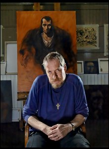 Peter Howson (Pic: Tricia Malley Ross Gillespie)