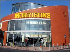 Morrisons supermarket in Llanelli