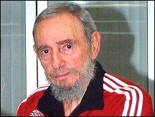 Fidel Castro. Photo: 18 November, 2008