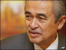 Malaysian Prime Minister Abdullah Ahmad Badawi in December
