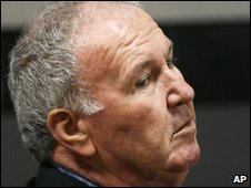 Rev Francis Guinan in court on 21/1/09