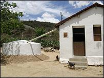 Cisterna para recolección de agua  (Foto: gentileza ASA)