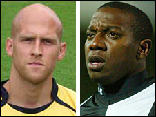 Oxford and Crawley were deducted points over the registrations of Eddie Hutchinson and Isaiah Rankin