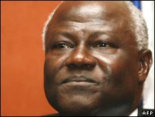 President, Ernest Bai Koroma