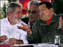 Hugo Ch�vez y Lula