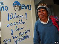 Ind�gena en Cochabamba