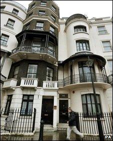 Mansions on Park Lane - squats