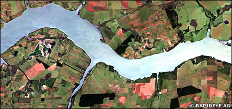 � RAPIDEYE AG Agricultural area near Sao Paulo - Acquired by RapidEye CHOROS on Nov 11 2008
