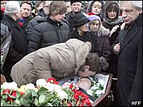 Похороны Станислава Маркелова