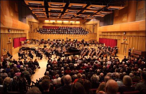 Gala concert at BBC Hoddinott Hall, Cardiff